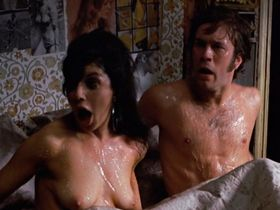 Geraldine Sherman nude - There's a Girl in My Soup (1970)