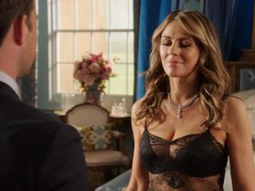 Elizabeth Hurley sexy - The Royals s03e01 (2016)