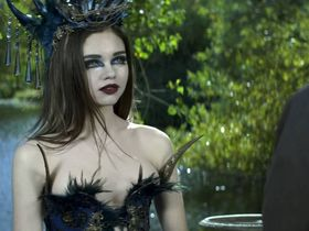 India Eisley sexy - The Curse of Sleeping Beauty (2016)