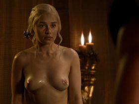 Emilia Clarke nude - Game of Thrones s03e08 (2013)