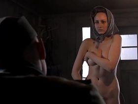 Leelee Sobieski sexy - Uprising (2001)