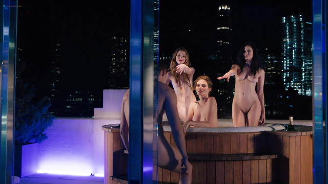 Maggie Siff  sexy, Alyx Libby nude, Katelyn Pearce nude, Valery Lessard nude, and Anna Tyson nude - Billions s03e07 (2018)