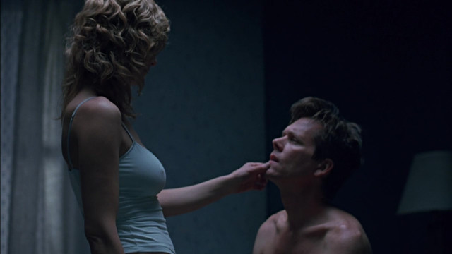 Kyra Sedgwick sexy - The Woodsman (2004)