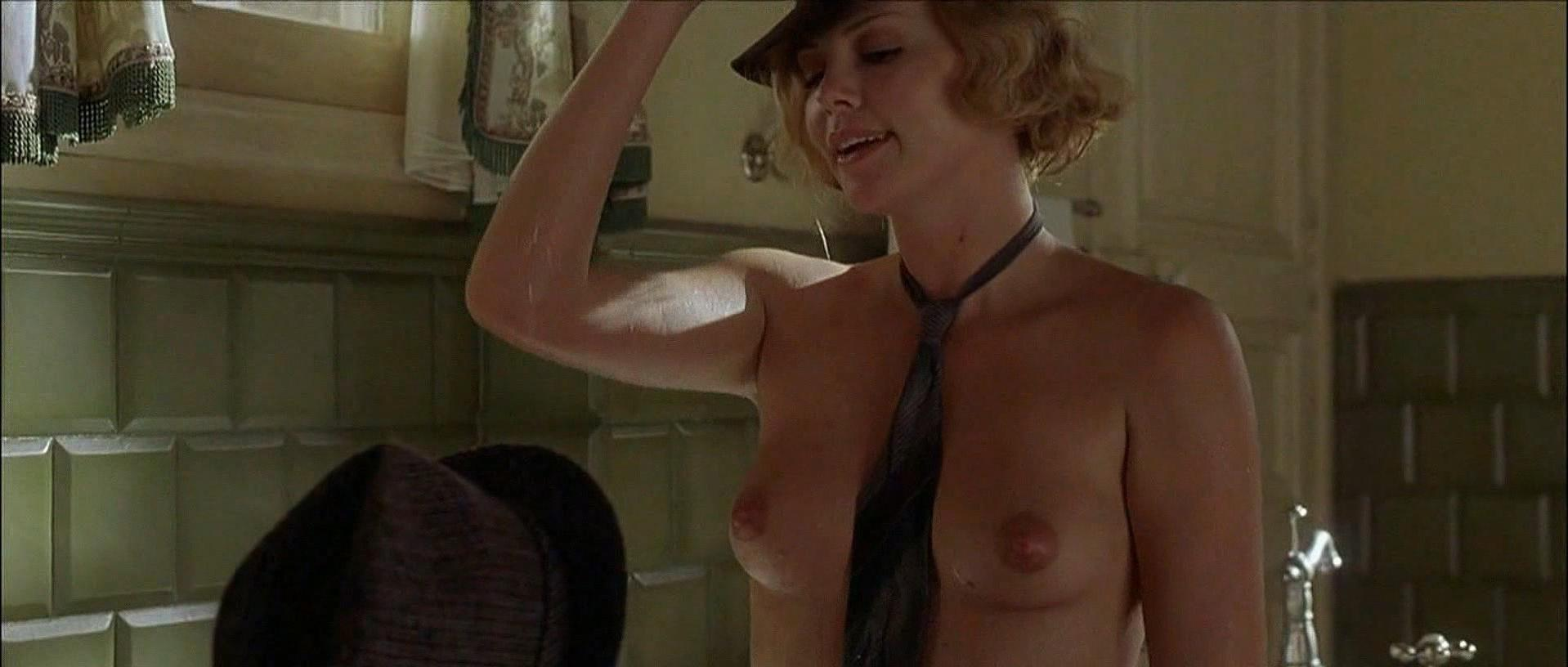 Charlize theron nude head in the clouds 6