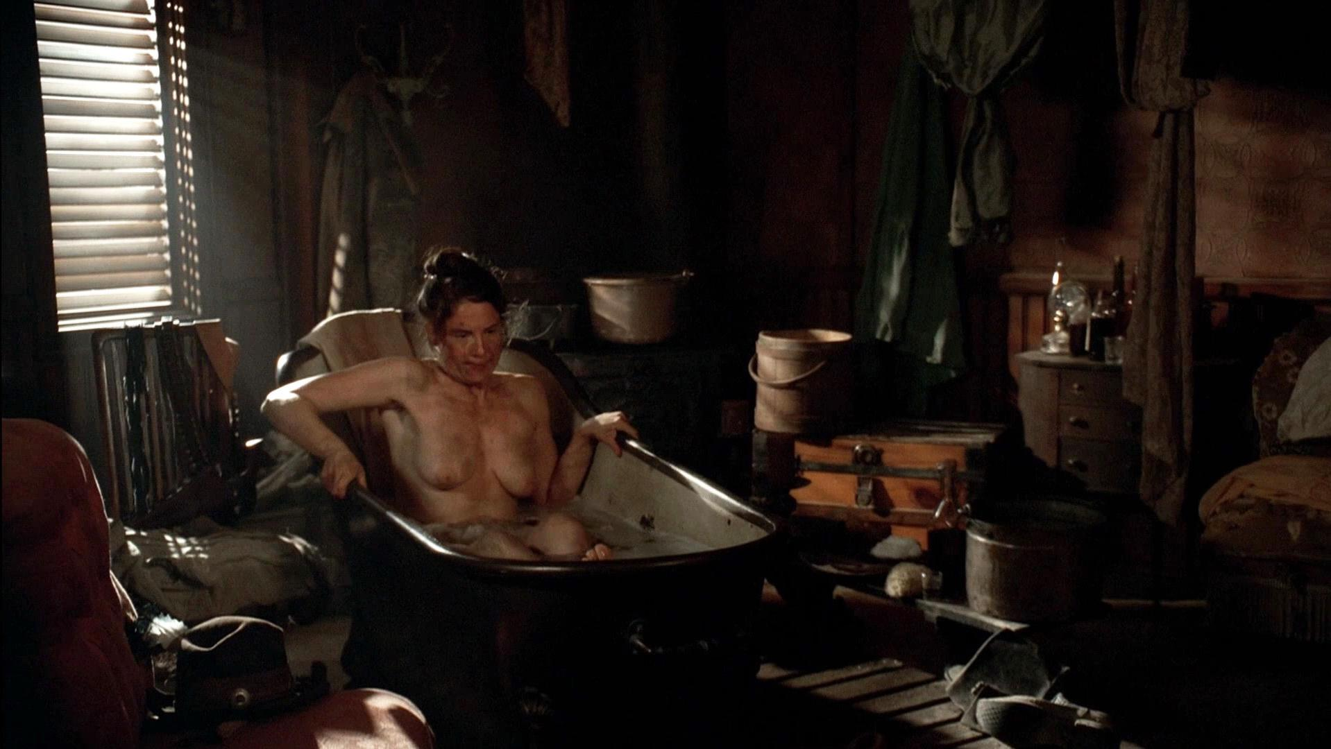 Robin Weigert nude - Deadwood s03e02-07 (2006)