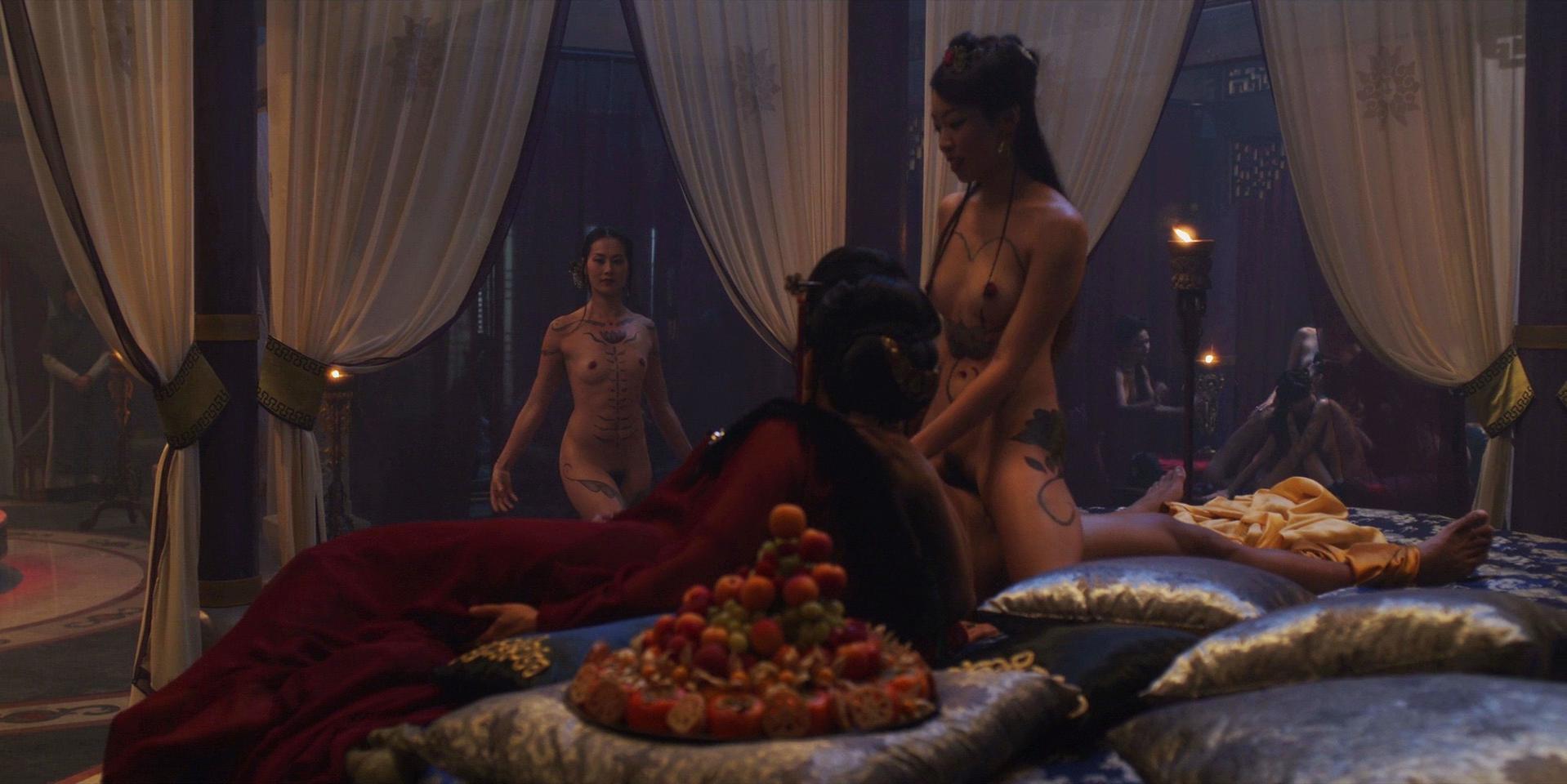 Olivia Cheng nude, Leifennie Ang nude - Marco Polo s01e06 (2014)