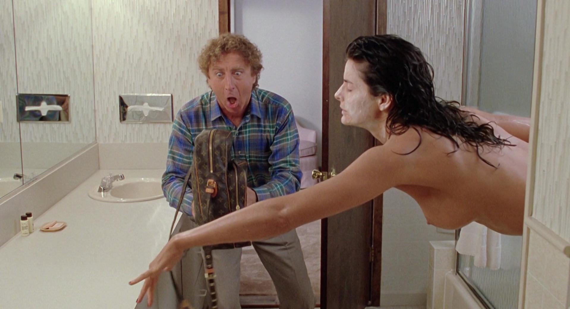 Joan Severance nude - See No Evil Hear No Evil (1989)
