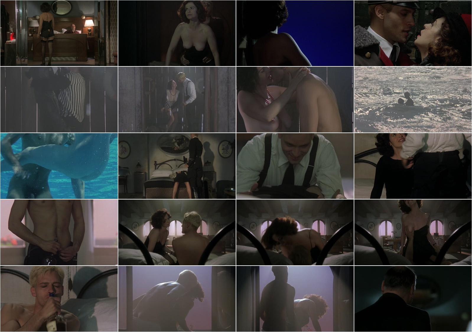 Anna Galiena nude - Black Angel (2002)