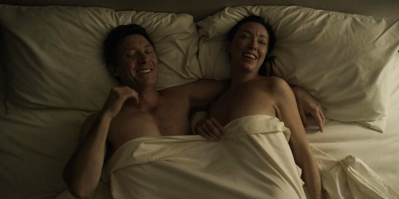 Molly Parker sexy - House of Cards s03e05 (2015)