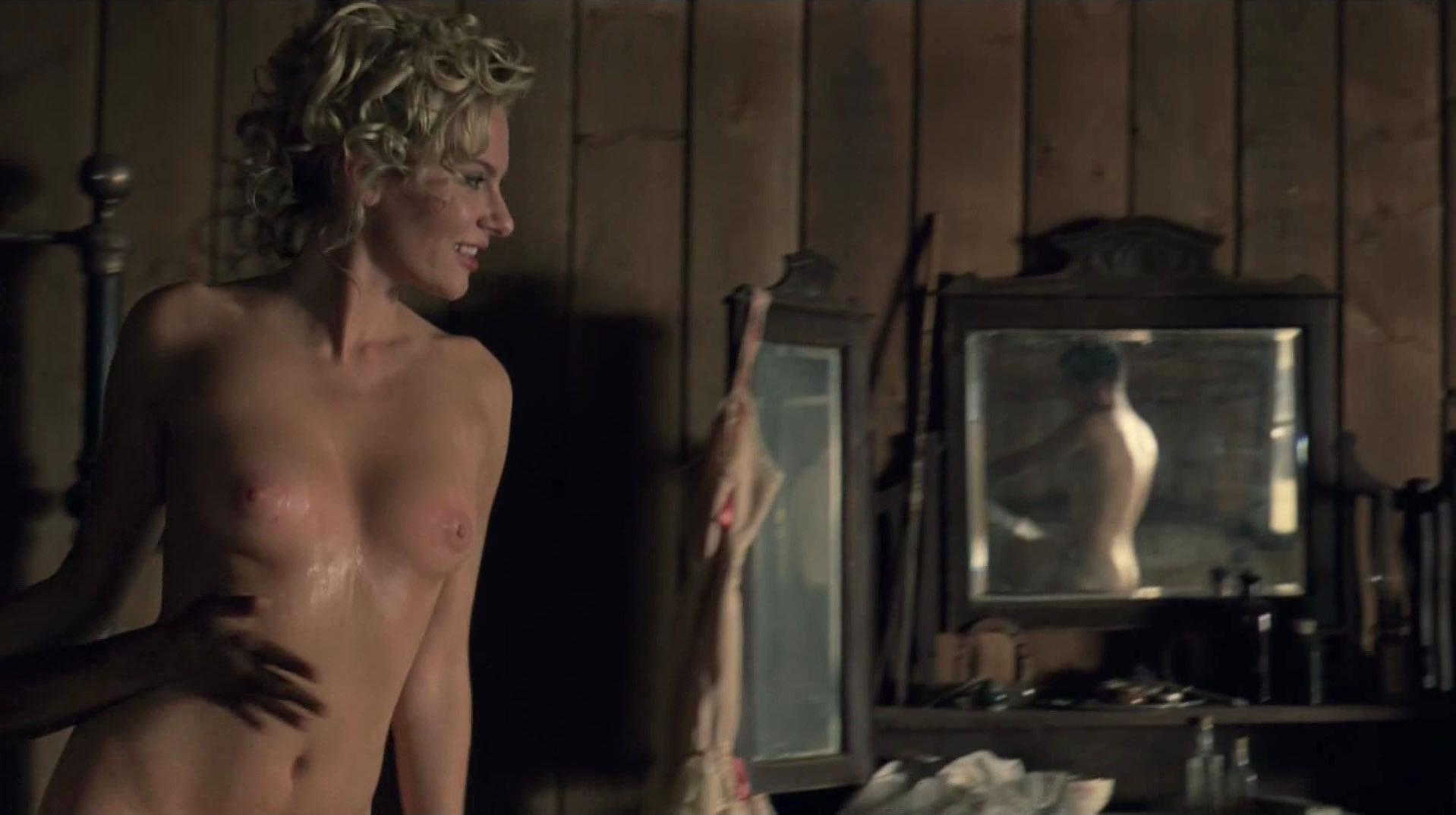 Jackie Moore nude - Westworld s01e01 (2016)