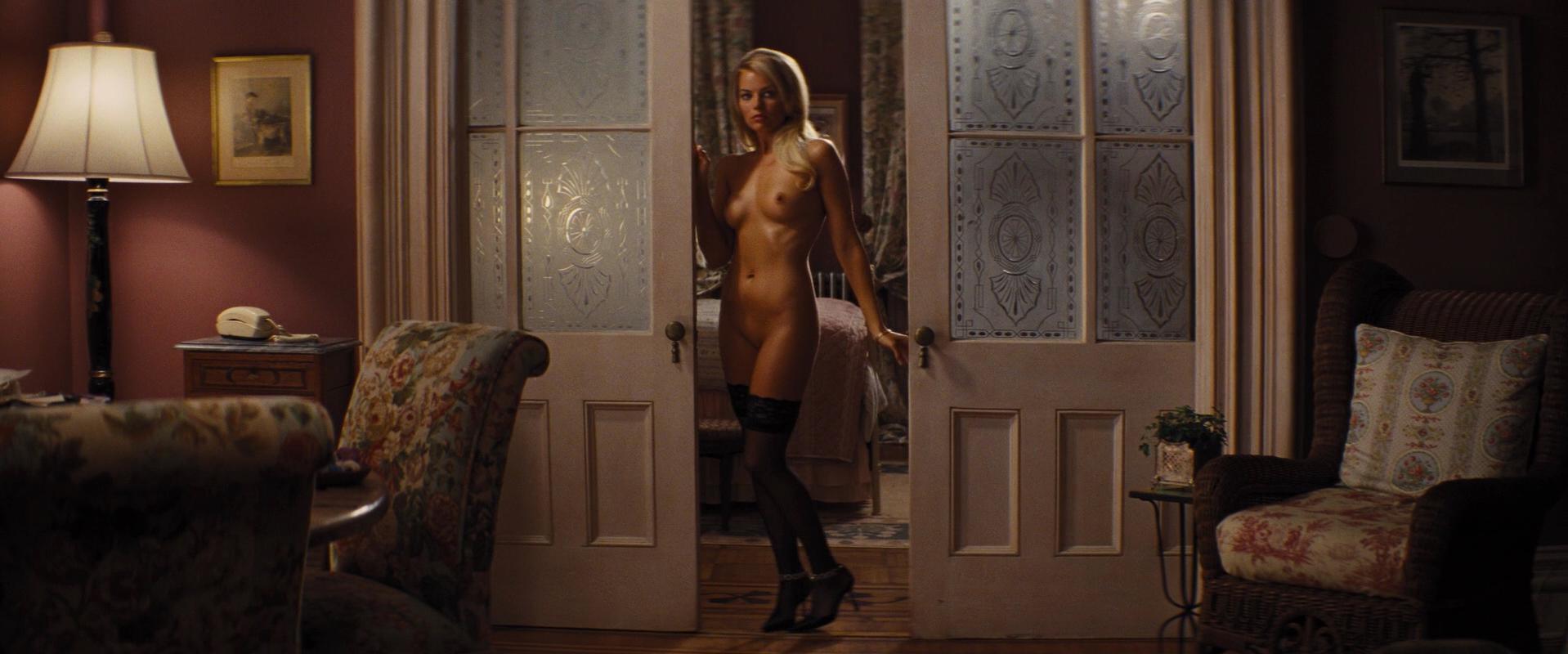 Porn margot robbie nude