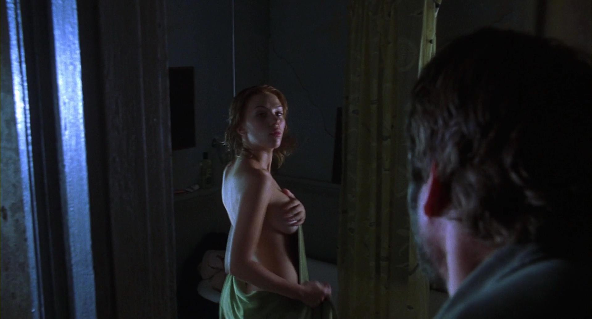 Scarlett Johansson sexy - A Love Song for Bobby Long (2004)