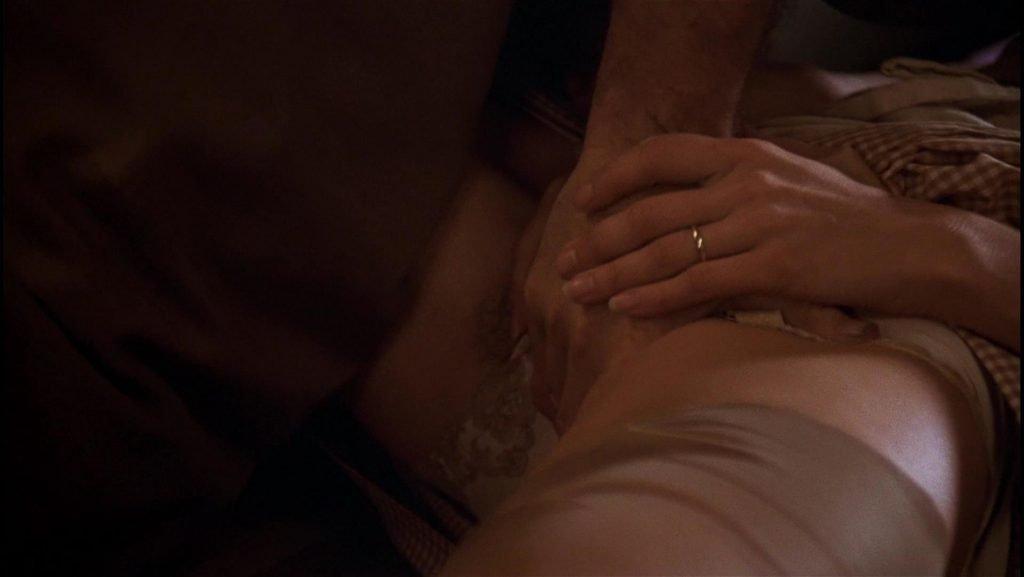 Anjelica Huston nude scenes