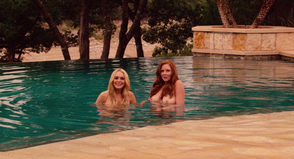 nude frontal lohan Lindsay full