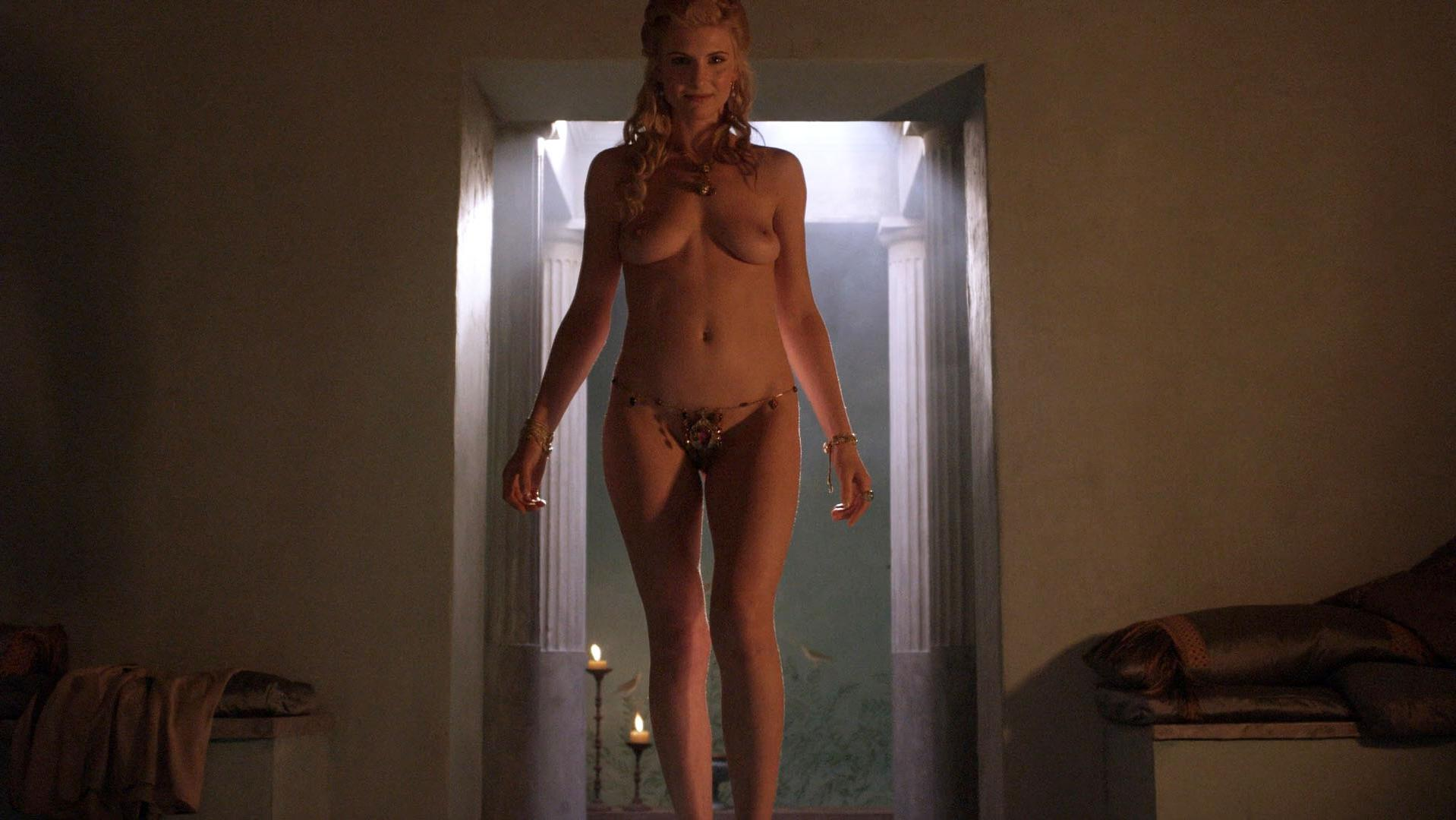 Viva Bianca nude - Spartacus: Blood and Sand s01e10 (2010)