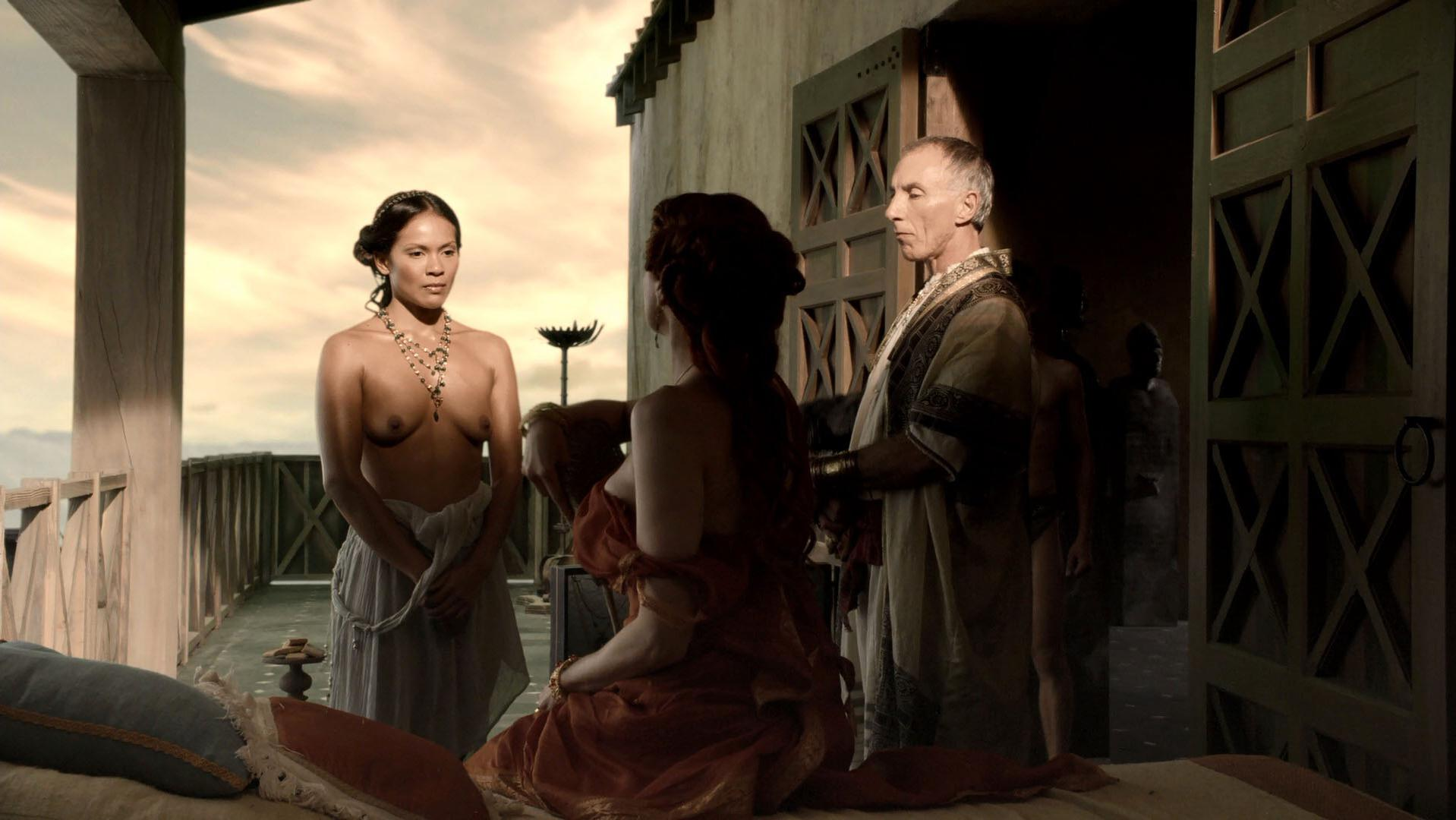Lesley-Ann Brandt nude - Spartacus: Blood and Sand season 1 (2010)