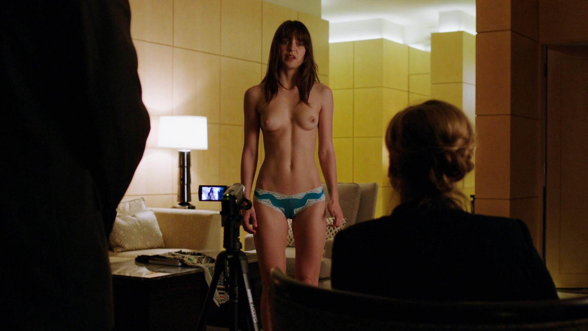 Melissa Benoist nude - Homeland s01e02 (2011)