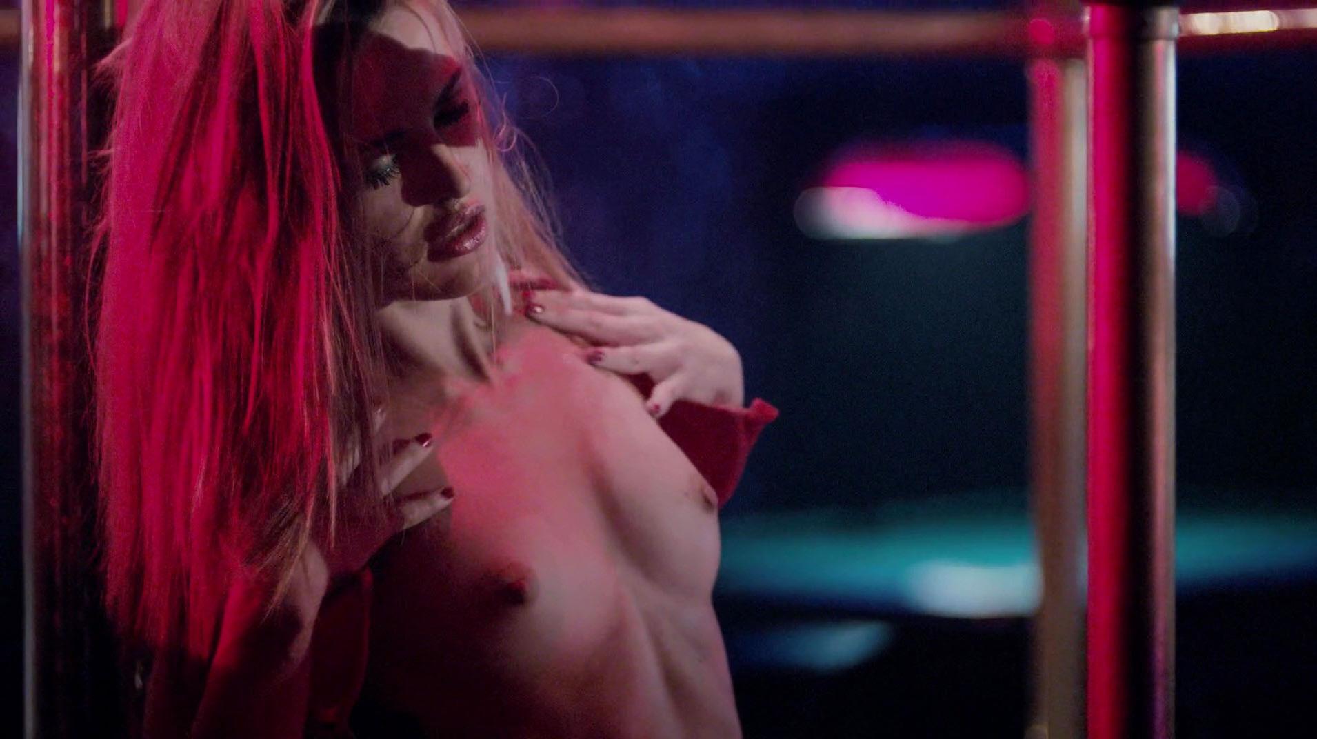 Ileana Huxley nude - Code of Honor (2016)