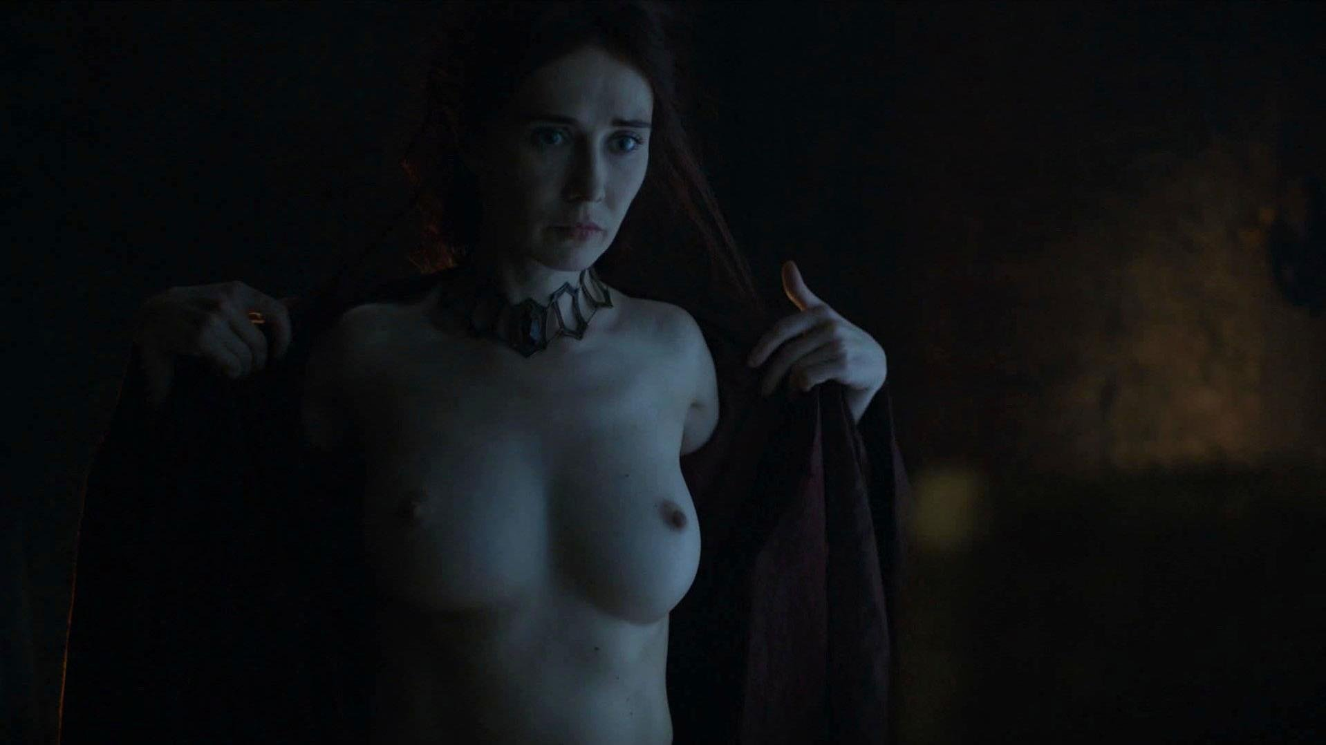 Carice Van Houten nude - Game Of Thrones s06e01 (2016)