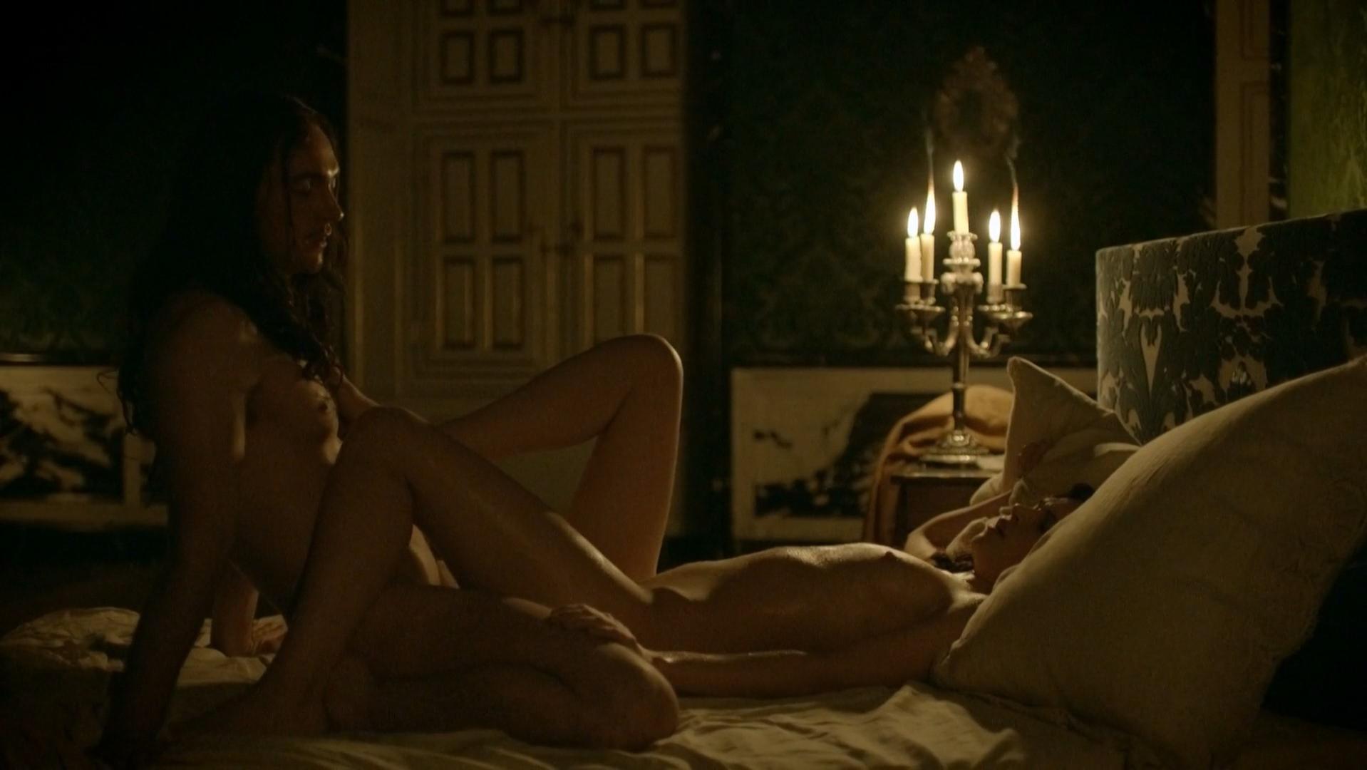 Anna Brewster nude - Versailles s01e06 (2015)