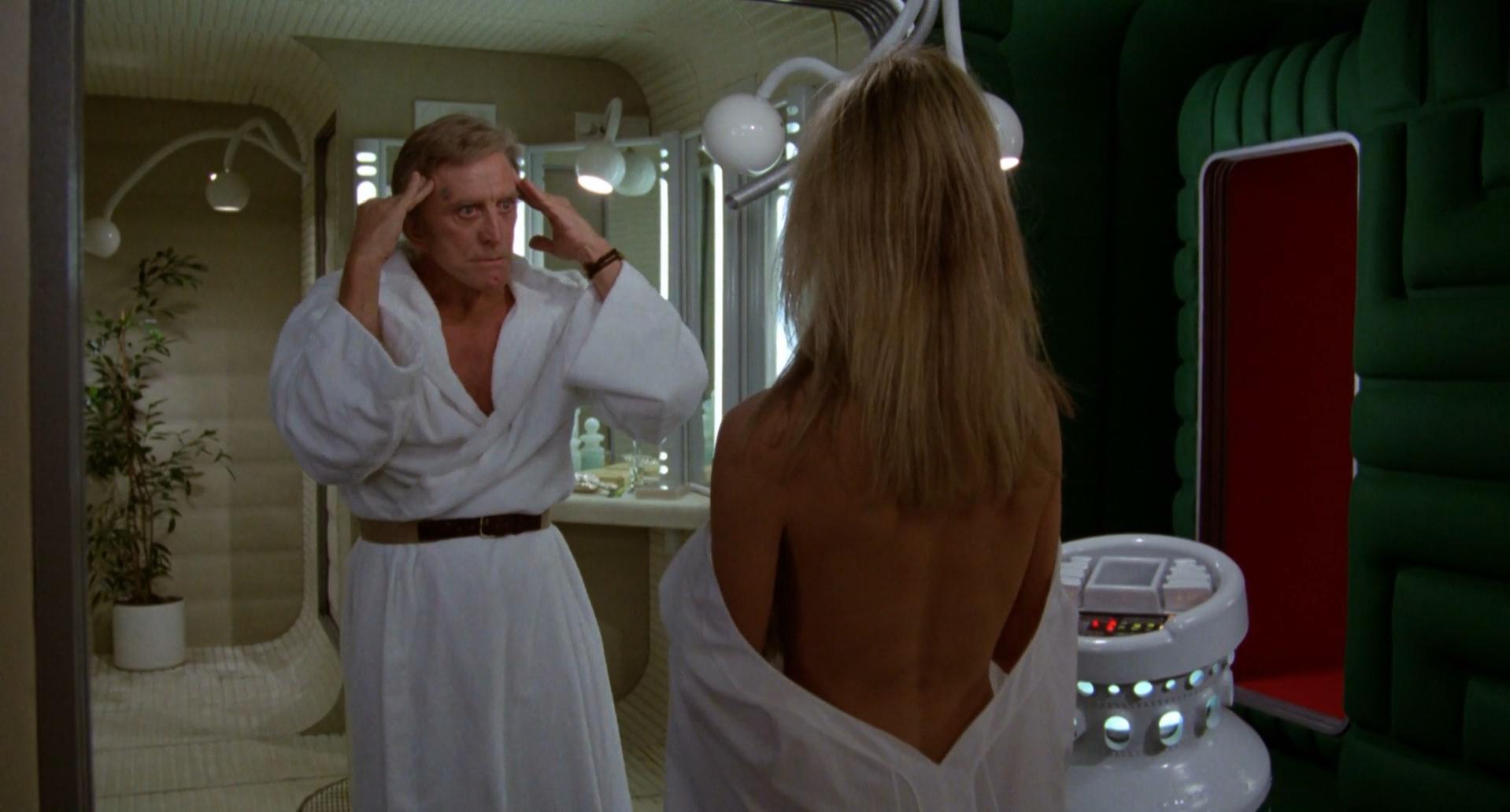 Nude video celebs » Farrah Fawcett nude - Saturn 3 (1980)