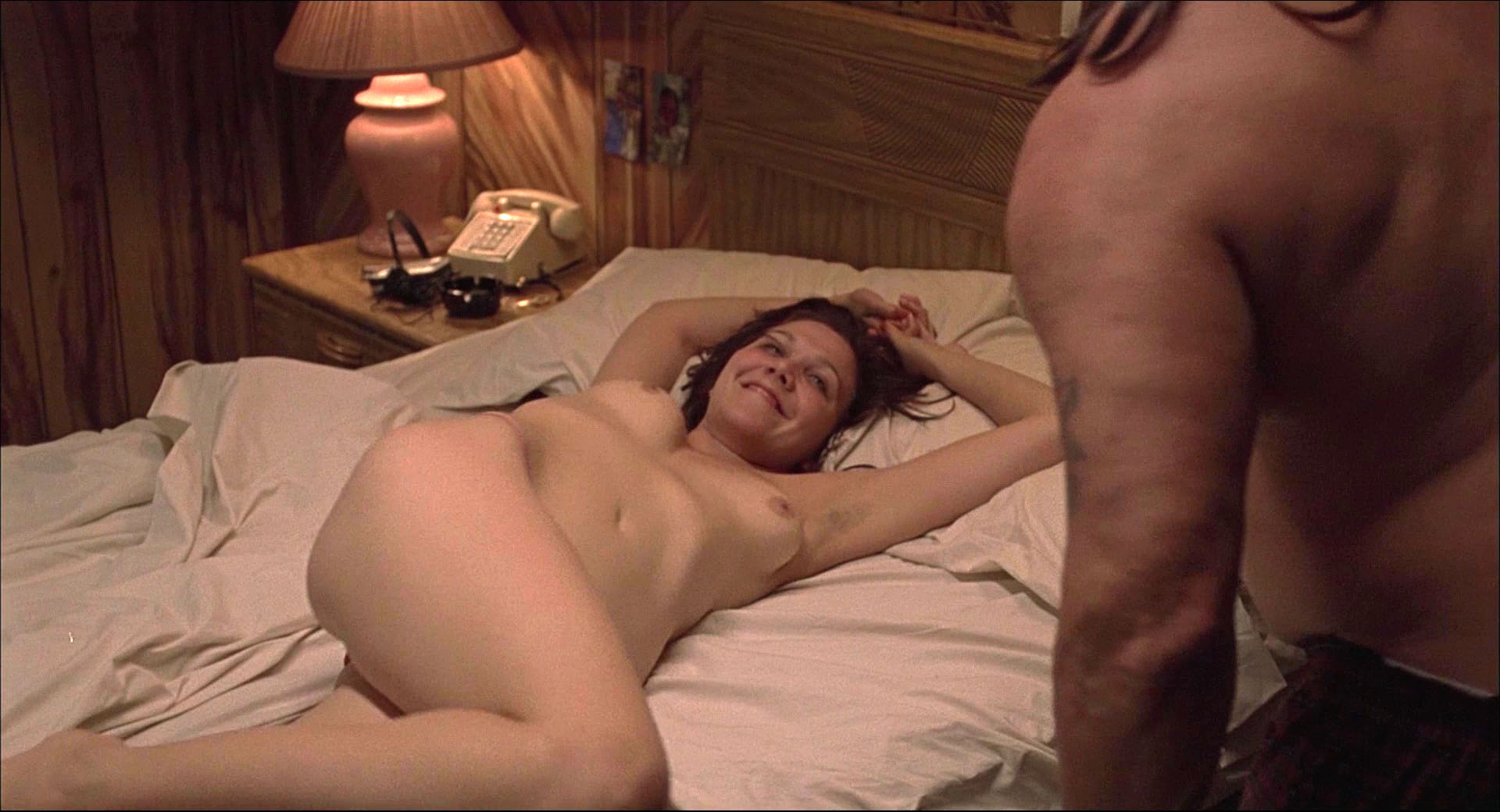 Maybe maggie gyllenhaal nuda this shit