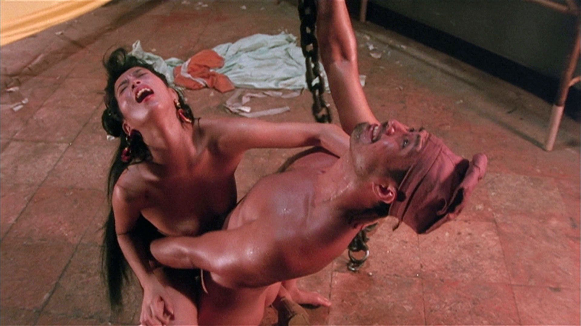 Mari Ayukawa nude - Sex and Zen (1991)