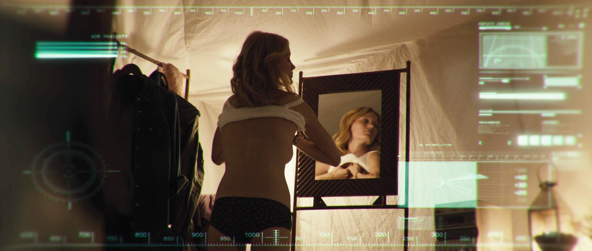 Ashley Hinshaw sexy - The Pyramid (2014)