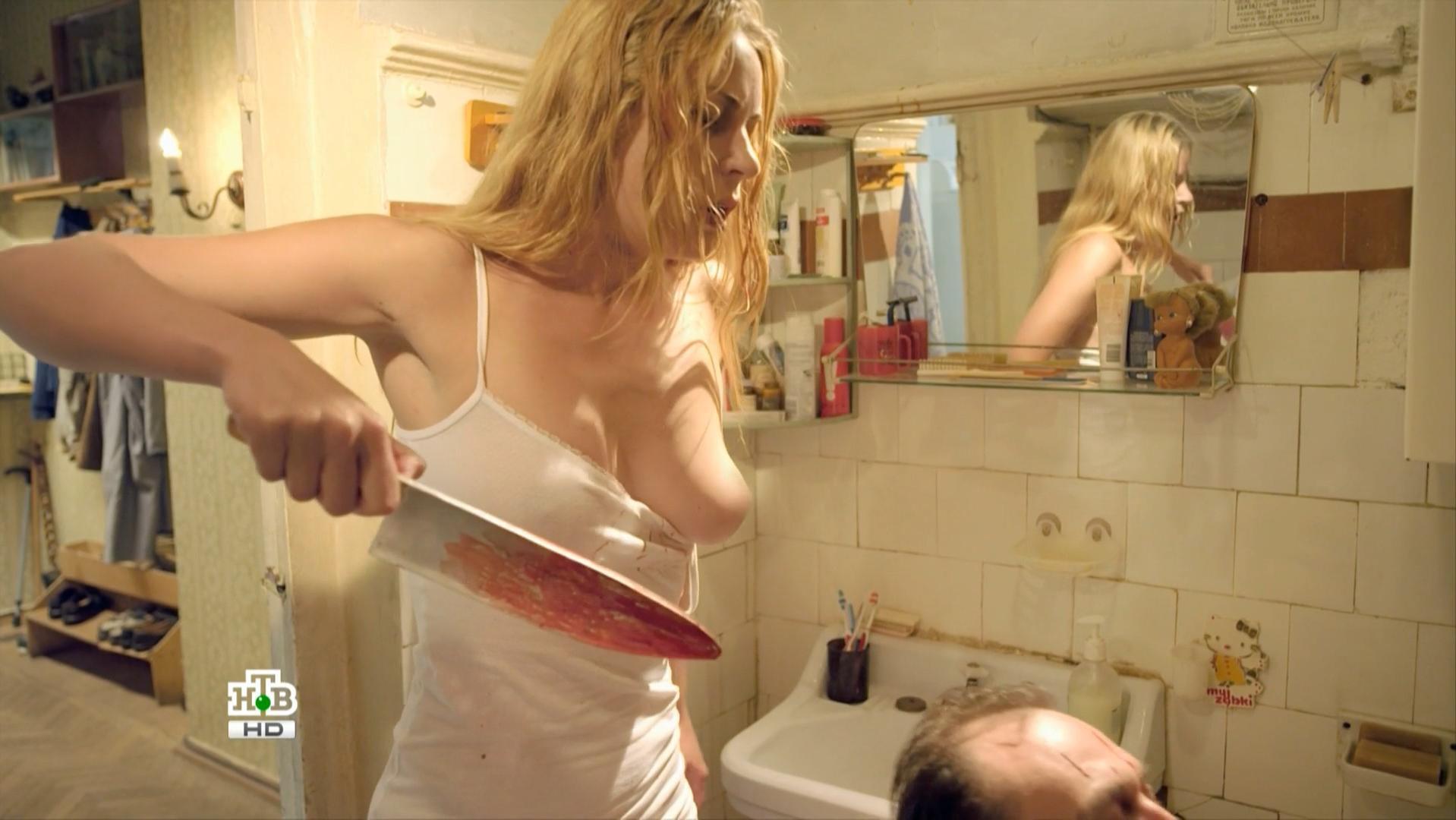 Yuliya Melnikova nude - Delo Chesti s01e04 (2013)