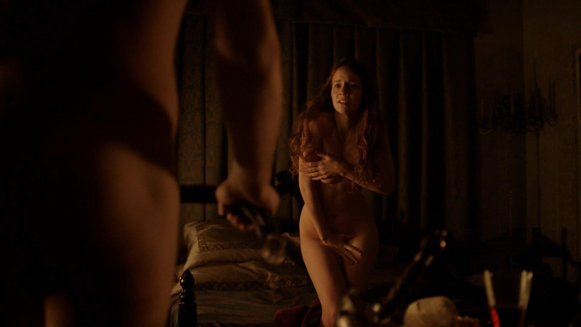 Barbora Mudrova nude - Borgia s01e02 (2011)