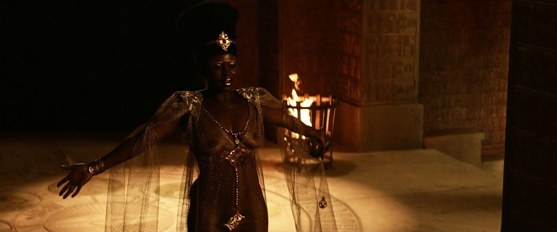 Yetide Badaki nude - American Gods s01e08 (2017)