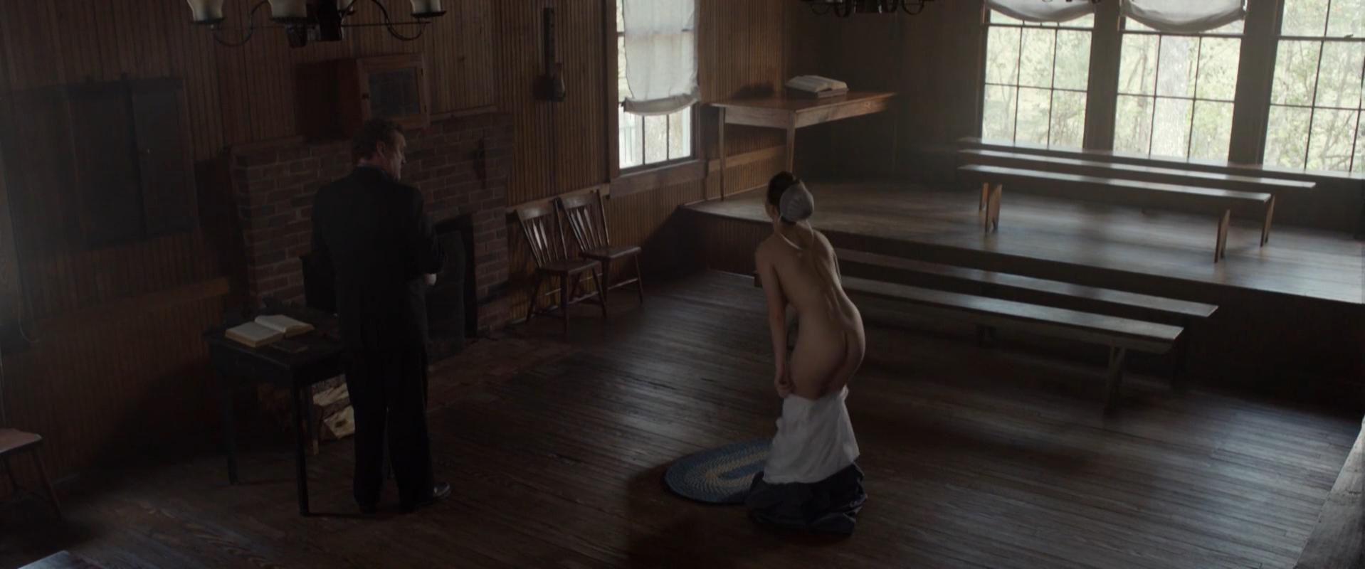 Alycia Debnam-Carey nude - The Devil's Hand (2014)