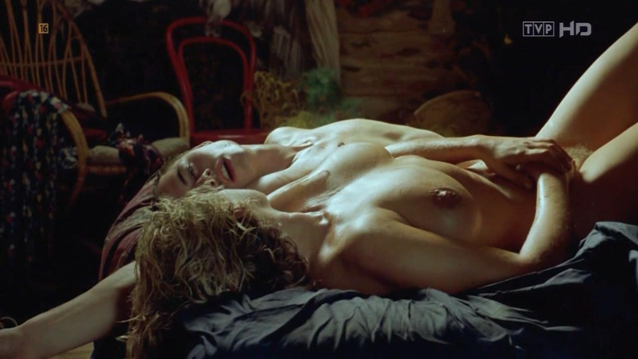 Katarzyna Figura nude - Autoportret z Kochanka (1996)