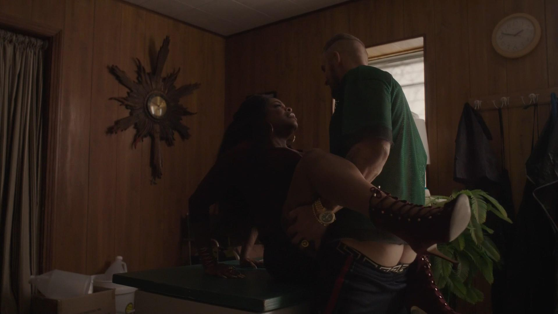 Karrueche tran sex scene in claws series scandalplanetcom 7