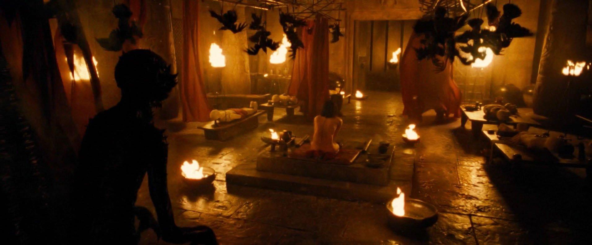 Sofia Boutella nude - The Mummy (2017)