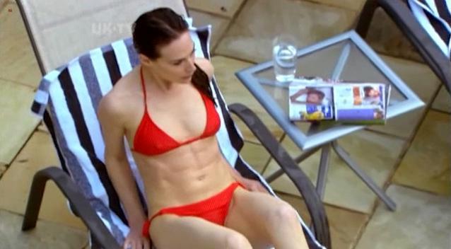 Bondage model nude