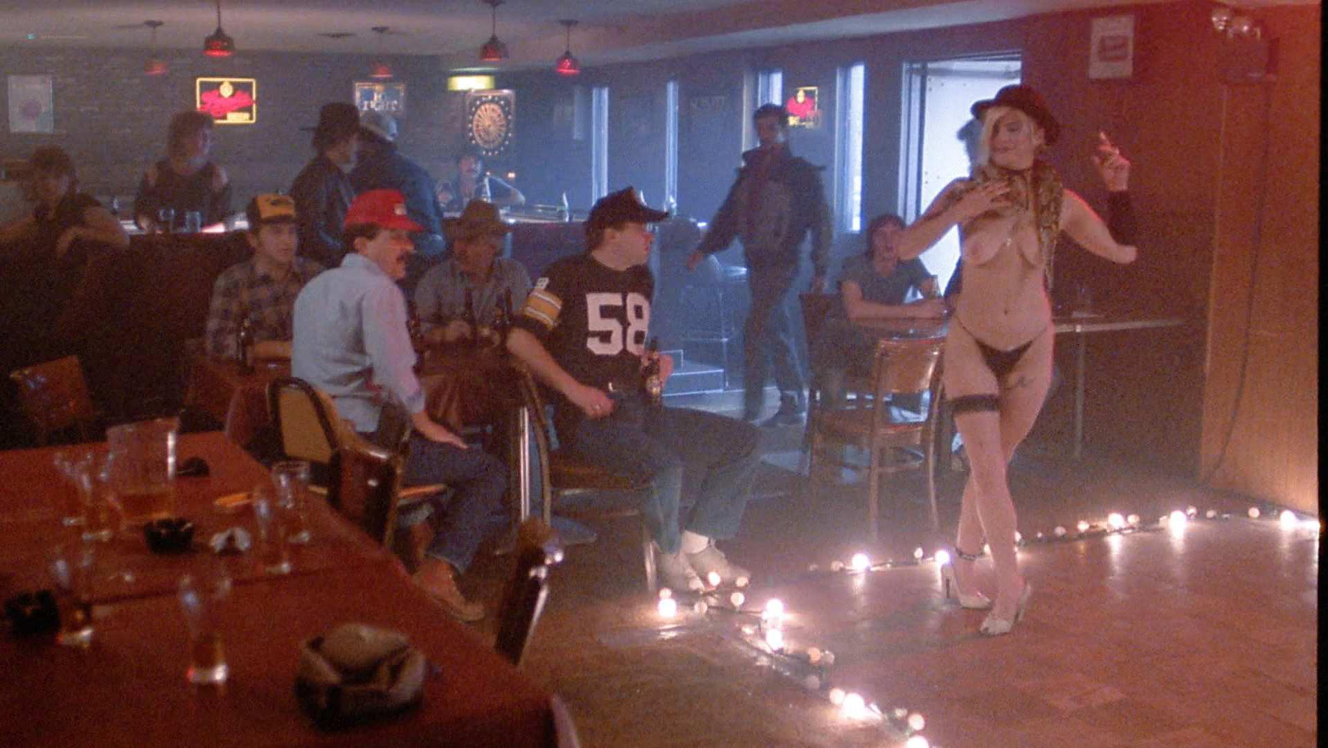 Amy Mathesiuf nude - The Majorettes (1986)