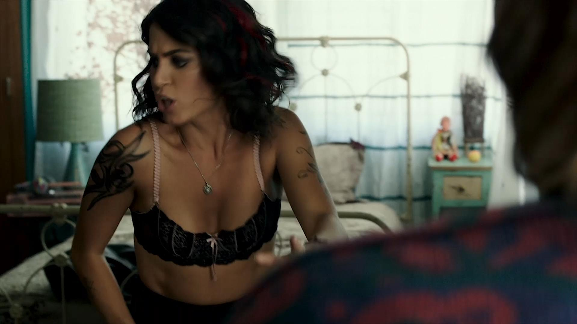 Nikki Reed sexy - Murder of a Cat (2014)