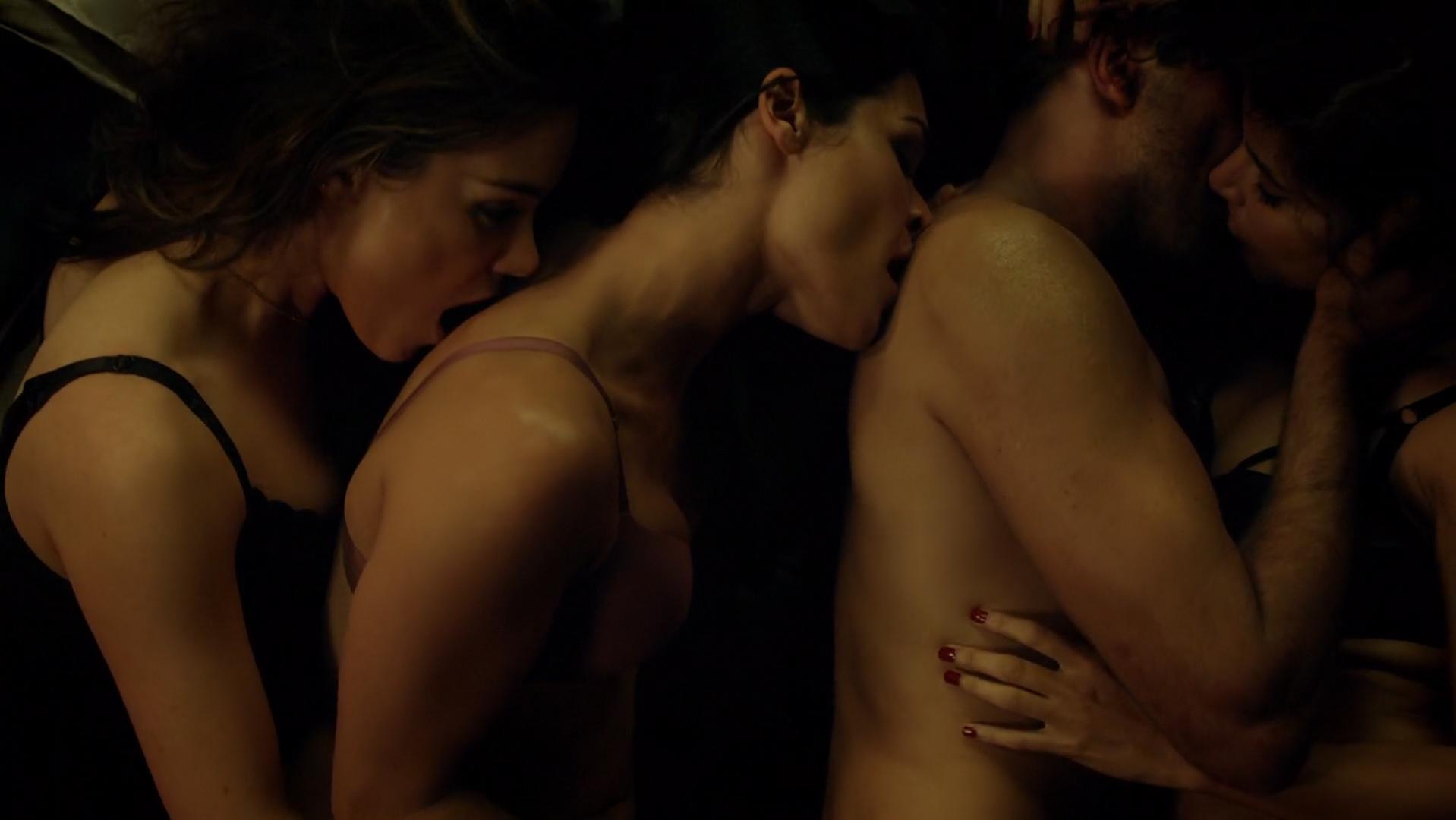 Roxanne McKee sexy, Kim Engelbrecht sexy, Shivani Ghai sexy, Christina Chong nude - Dominion s02e08 (2015)
