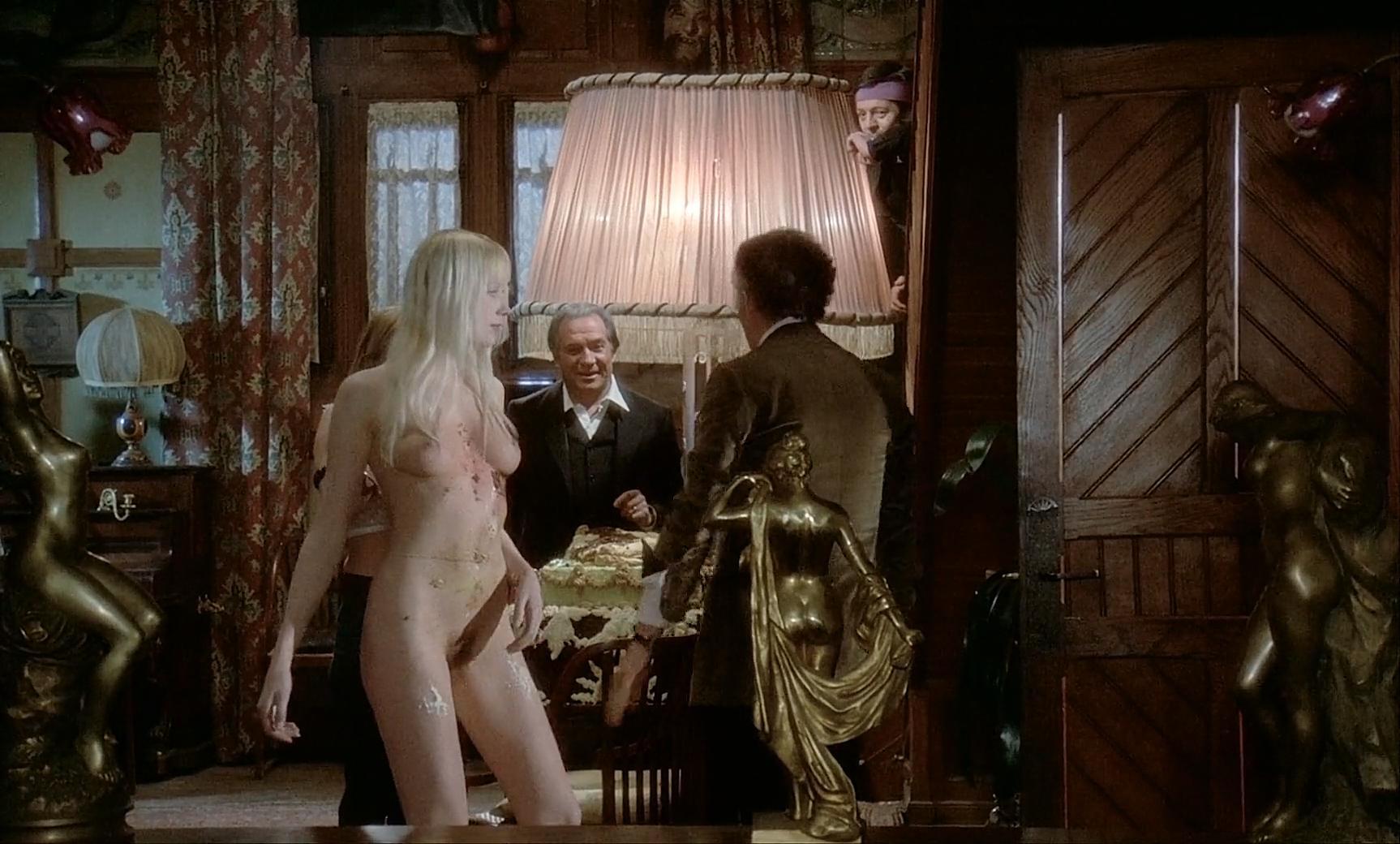 Solange Blondeau nude, Andrea Ferreol nude, Eva Simonet nude - La grande bouffe (1973)