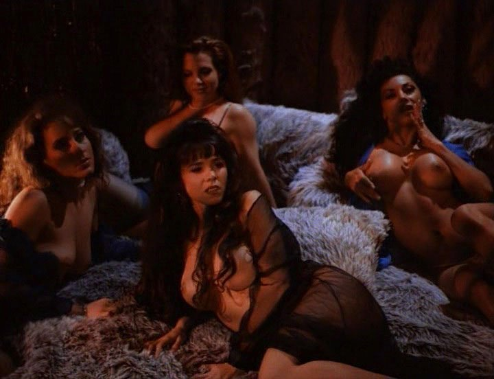 Lorissa McComas nude, Bianca Rocilili nude, Brittany Rollins nude, Meaghan Prester nude - Droid Gunner (1995)