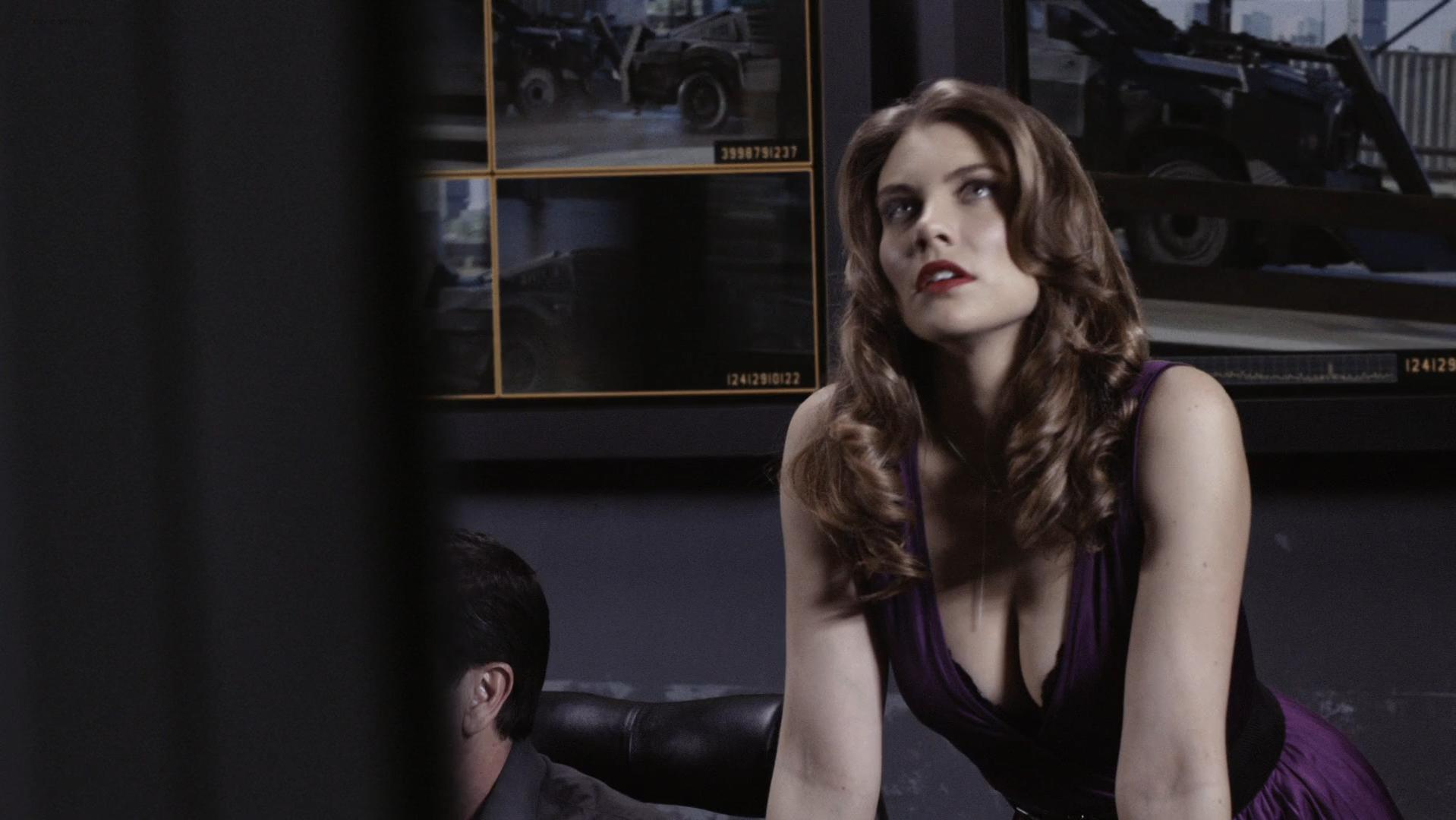 Lauren Cohan sexy - Death Race 2 (2010)