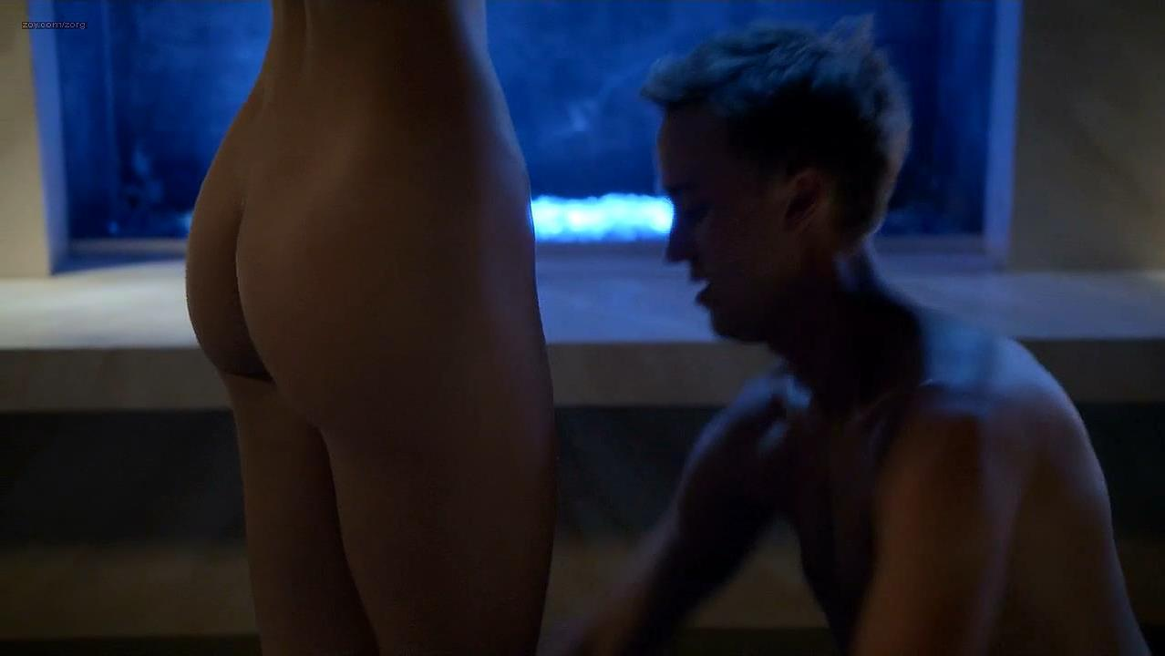 Olivia Jordan nude - Murder in the First s01e10 (2014)