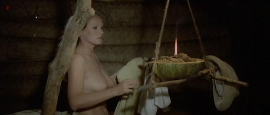 Ursula Andress nude - The Mountain of the Cannibal God (1978)