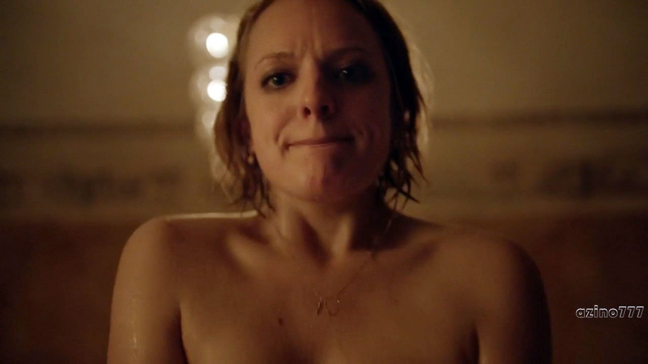 Elisabeth Moss nude - The Square (2017)