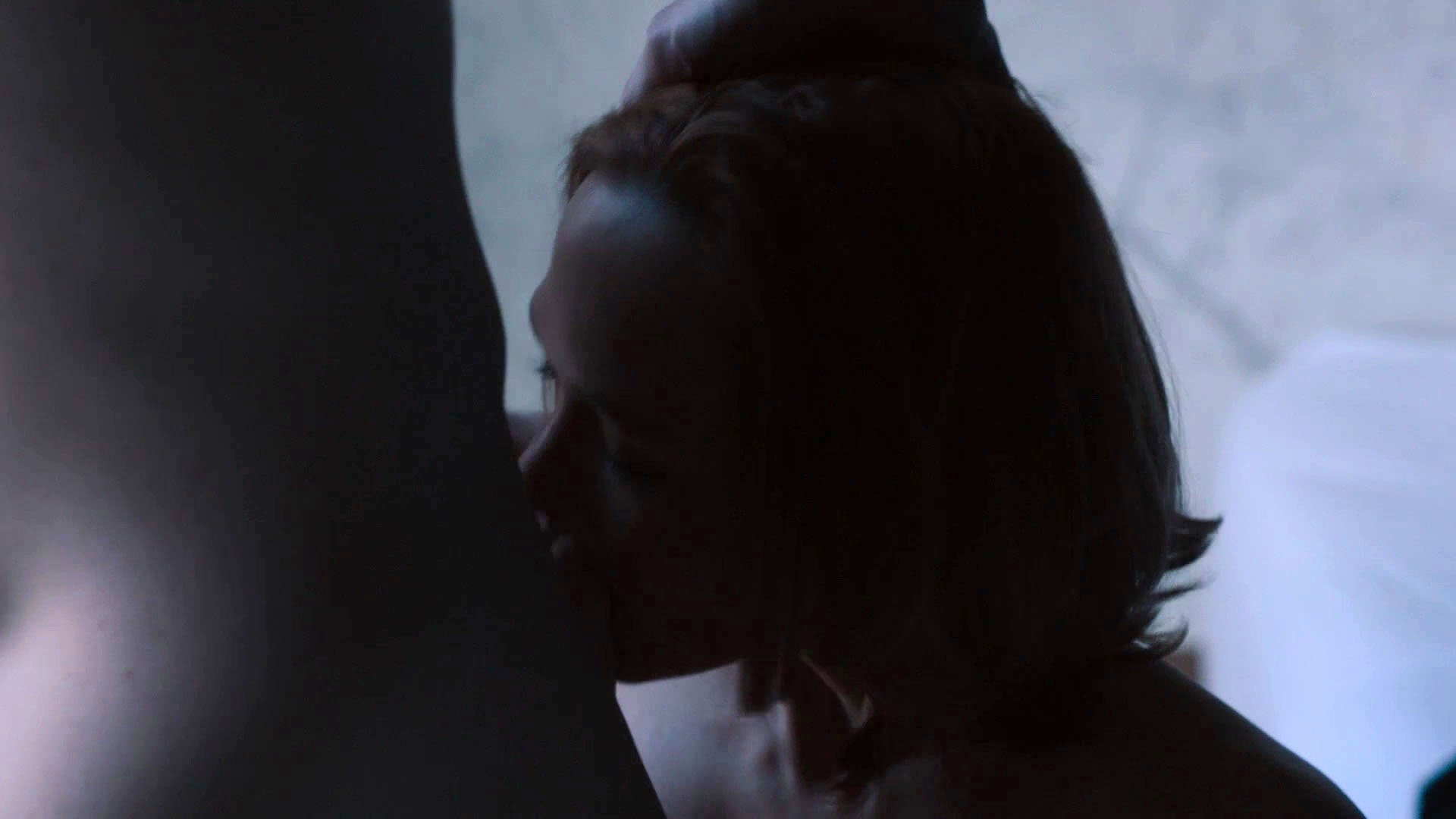 image Celebrity louisa krause blows a husband and wife in girlfriend experience