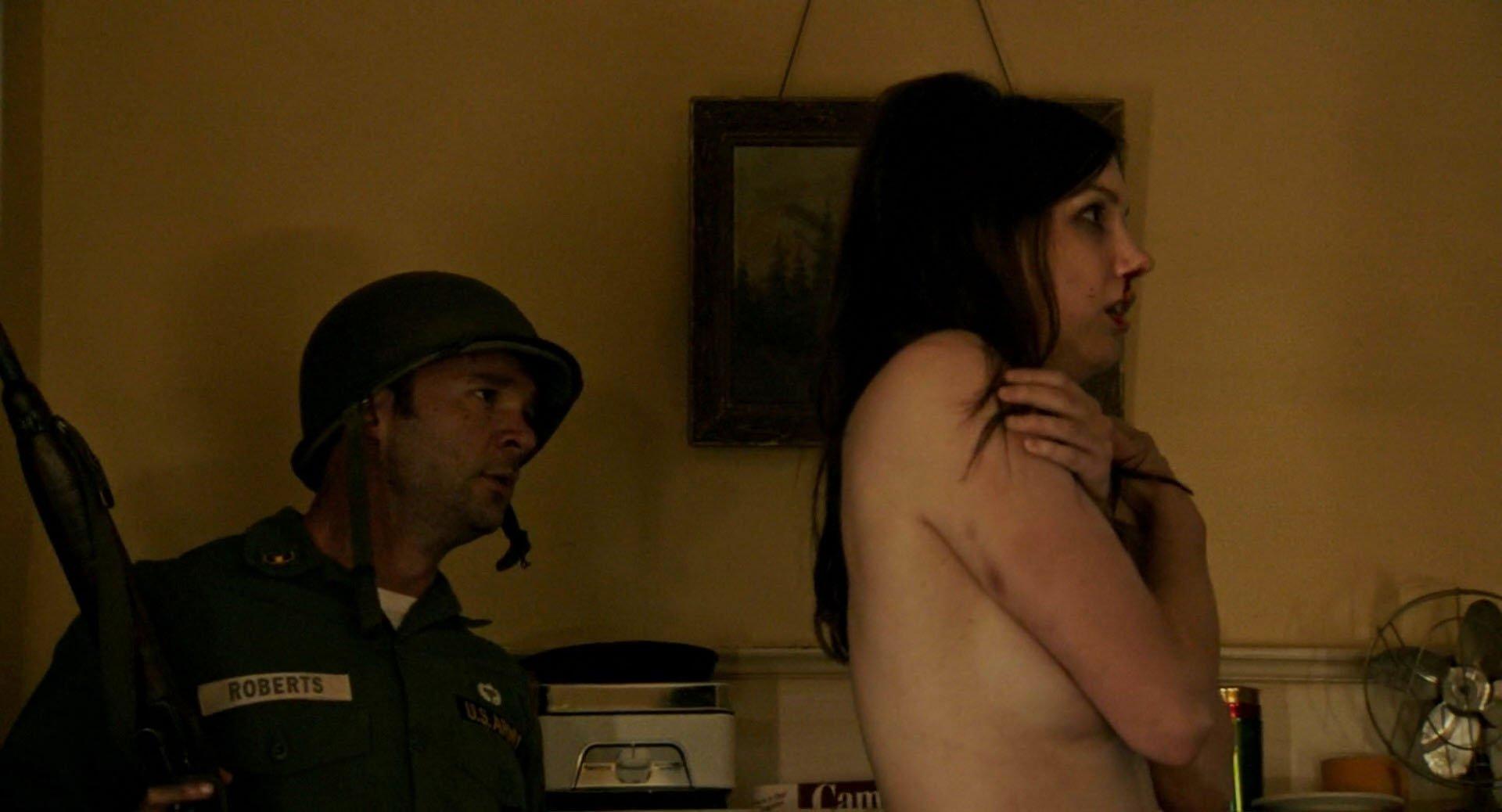 Hannah Murray nude - Detroit (2017)
