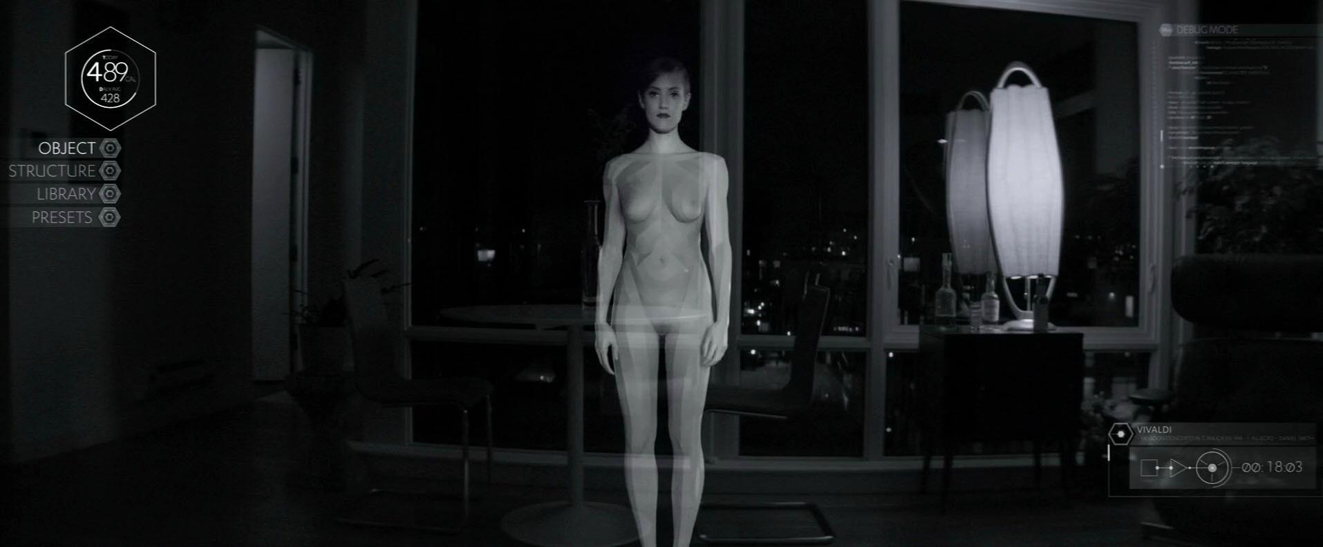 Alexia Rasmussen nude - Creative Control (2015)