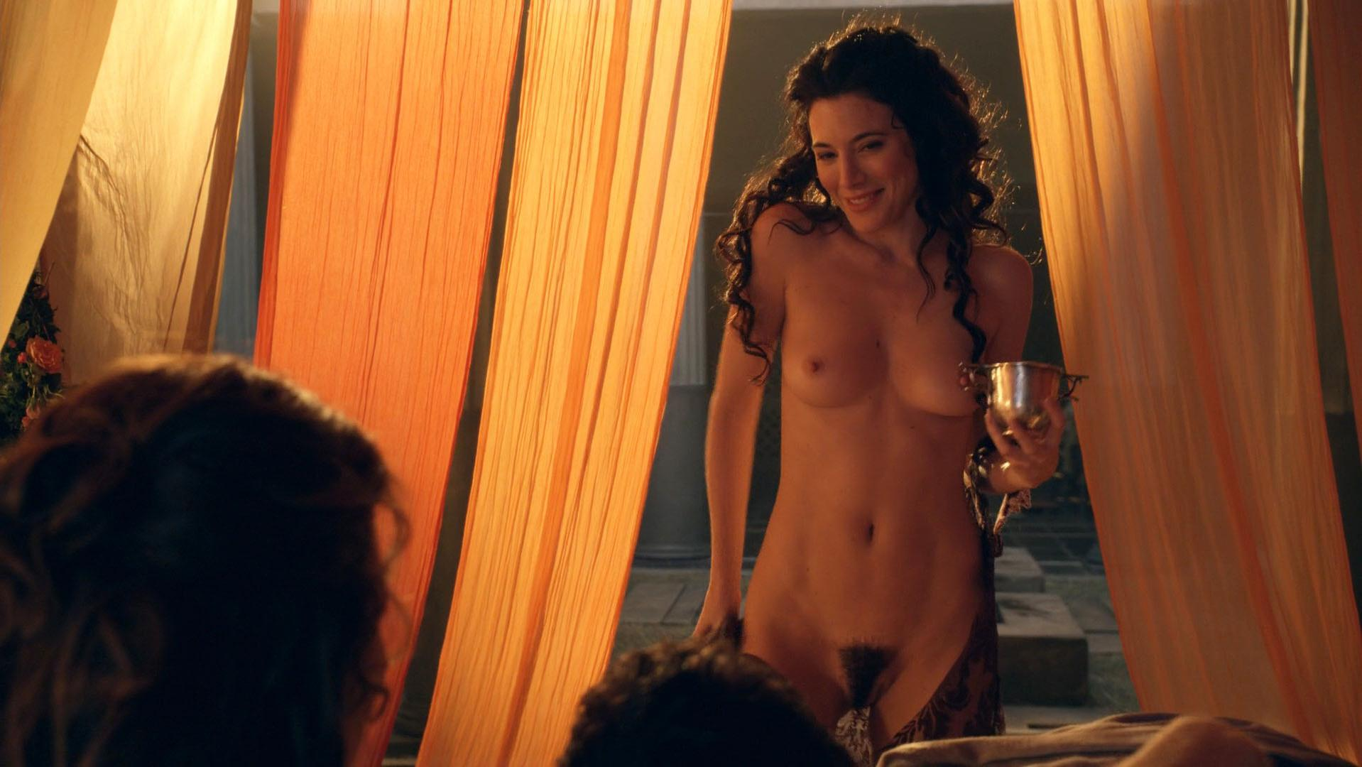 Lucy Lawless nude, Jaime Murray nude - Spartacus. Gods of the Arena s01e03 (2011)