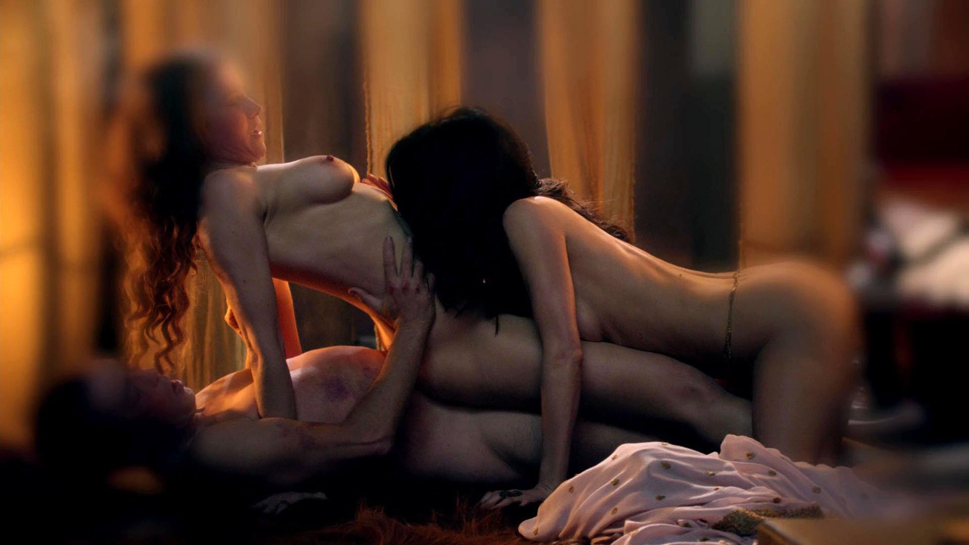 Lucy Lawless nude, Jaime Murray nude - Spartacus. Gods of the Arena s01e02 (2011)